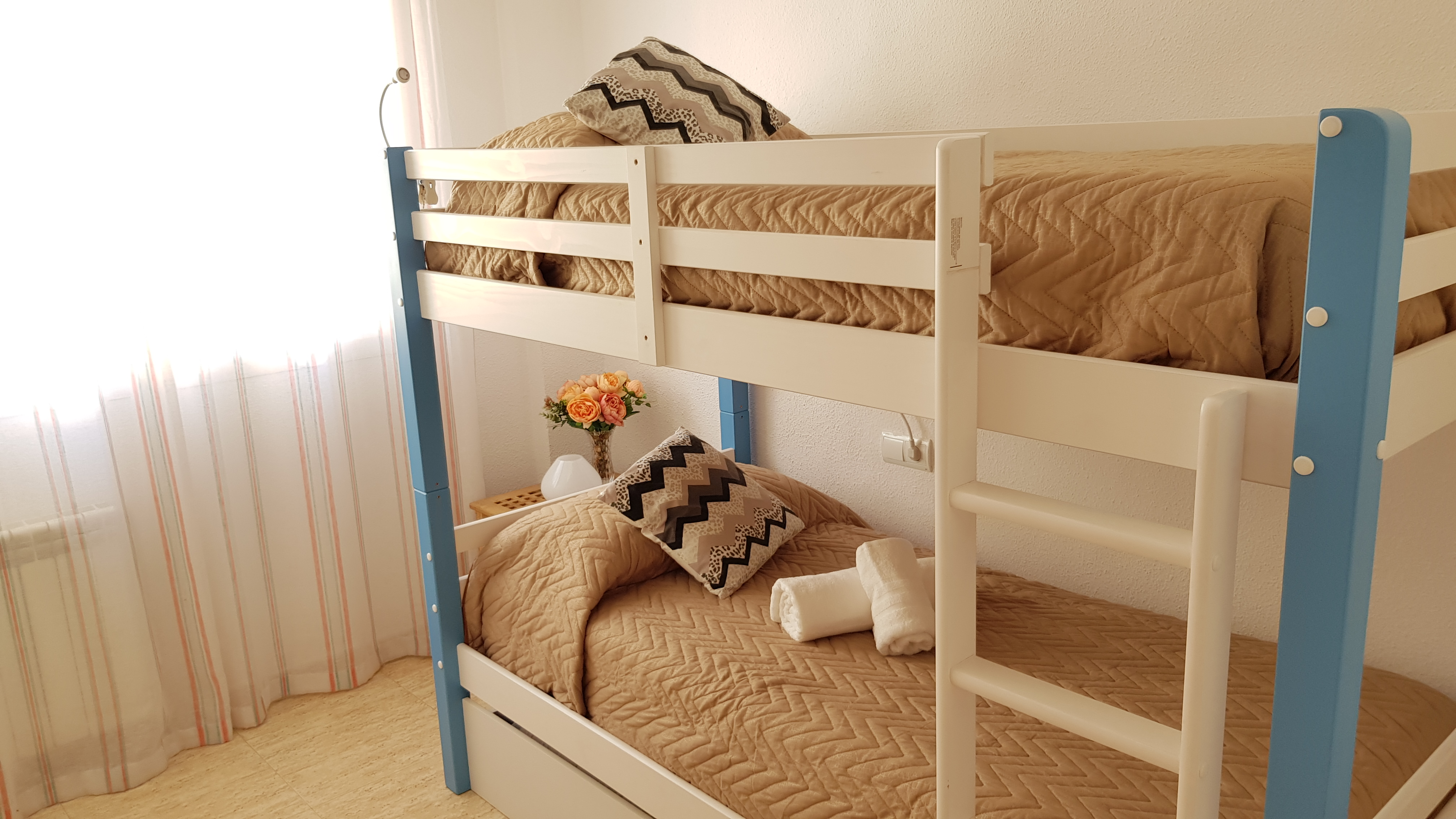 SE C - Double room with bunk bed