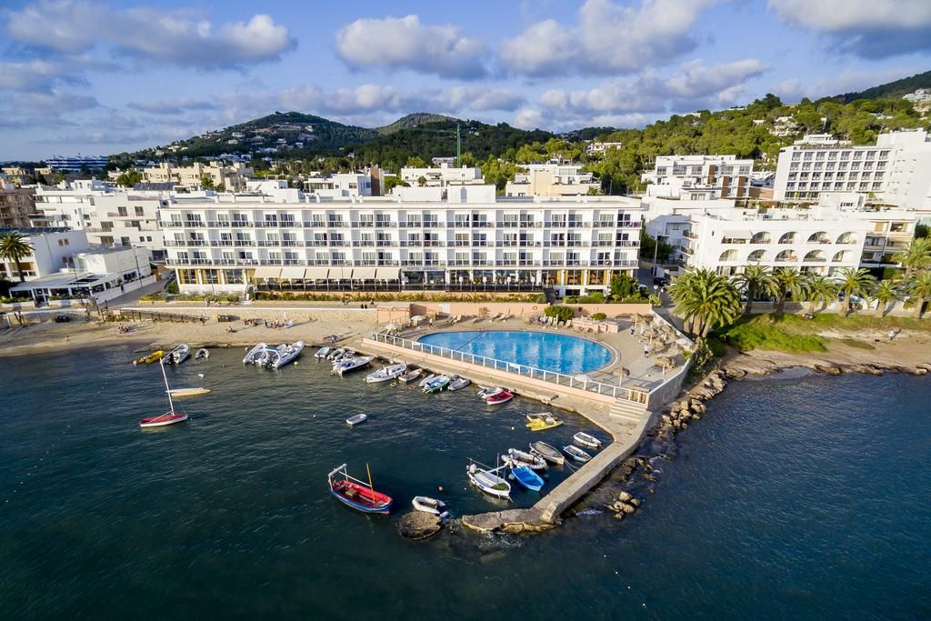 Beachfront SPA Hotel with Sea Views and Pool IBIZA HTL SIBTAL overview