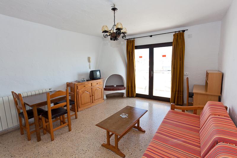 Quiet Sea View Apartment Cafè del Mar SAN ANTONIO Margesta Living Room